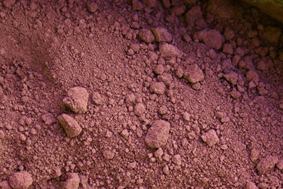 Eisenoxidrot dunkel