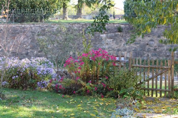 Gartentür, Halbholzausführung (Selbstabholung)