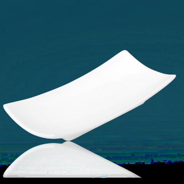 Seifenablage Porzellan weiß