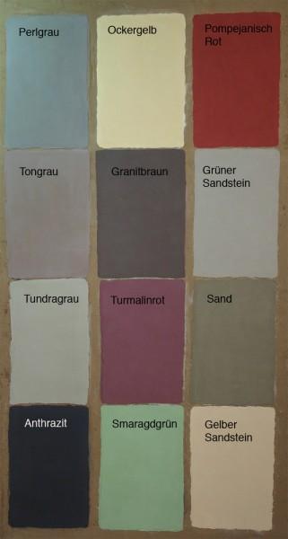 Pigmentpulver in 12 Farbtönen