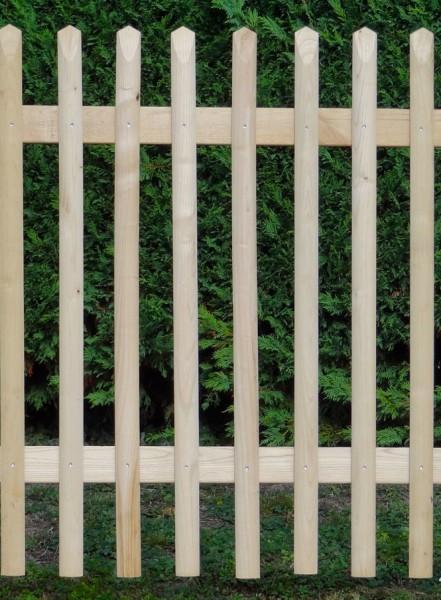 Gartentür, gehobelte Kastanie (Selbstabholung)