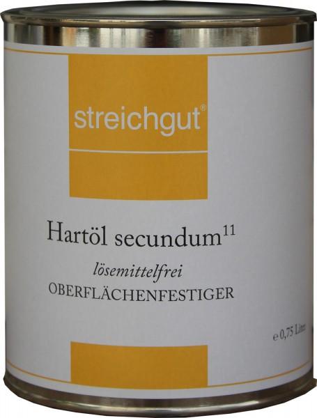 Hartöl secundum¹¹