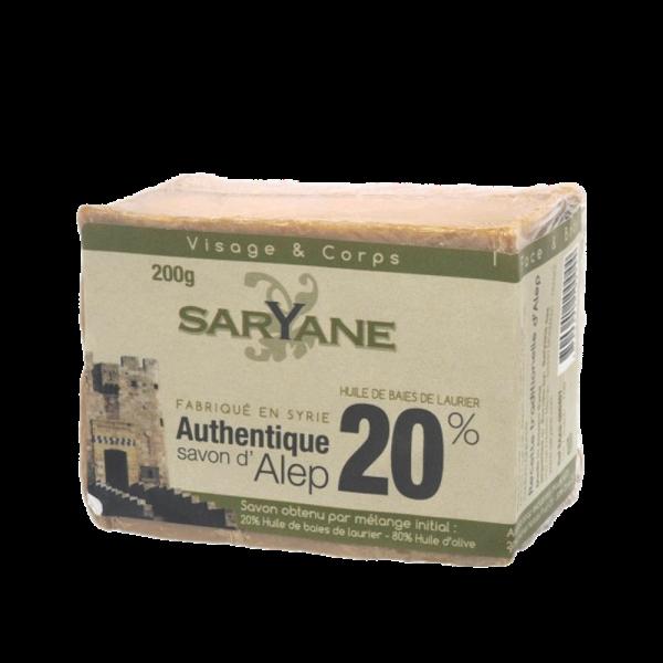 Saryane Aleppo Seife 20% Lorbeeröl